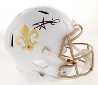 Alvin Kamara Signed New Orleans Saints Full-Size Speed Helmet (JSA COA) at PristineAuction.com