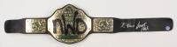 "Kevin Nash & Scott Hall Signed Full-Size WWE World Heavyweight Wrestling Champion ""New World Order"" Belt (Pro Player Hologram)"