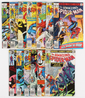 """Lot of (13) 1978-79 """"The Amazing Spider-Man"""" #181-193 Marvel Comic Books"""