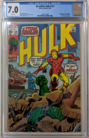"1970 ""The Incredible Hulk"" Issue #131 Marvel Comic Book (CGC 7.0)"