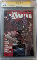 "Garth Ennis & Jimmy Palmiotti Signed 2009 ""Back to Brooklyn"" Issue #3 Image Comic Book (CGC Encapsulated - 8.0)"