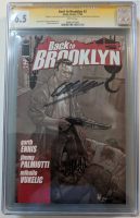 "Garth Ennis & Jimmy Palmiotti Signed 2008 ""Back to Brooklyn"" Issue #2 Image Comic Book (CGC Encapsulated - 6.5)"
