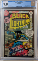 "1977 ""Black Lightning"" Issue #1 DC Comic Book (CGC 9.0)"
