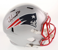 Chase Winovich Signed New England Patriots Full-Size Speed Helmet (Beckett COA)