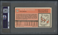 1970-71 Topps #123 Pete Maravich RC (PSA 6) at PristineAuction.com