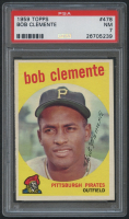 1959 Topps #478 Roberto Clemente (PSA 7) at PristineAuction.com