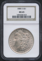 1888-O $1 Morgan Silver Dollar (NGC MS 65) at PristineAuction.com