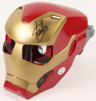 """Stan Lee Signed """"Avengers: Infinity War"""" Iron Man Marvel Augmented Reality Mask (Lee Hologram)"""