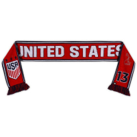 Alex Morgan Signed Team USA Scarf (Fanatics Hologram) at PristineAuction.com