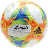 Alex Morgan Signed Adidas Soccer Ball (Fanatics Hologram) at PristineAuction.com