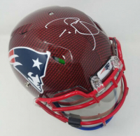 Tom Brady Signed New England Patriots Limited Edition Custom Hydro Dipped Full-Size Authentic On-Field Speed Helmet (Tristar Hologram & Steiner Hologram)