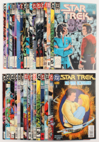 "Lot of (34) 1984 - 1993 Vintage ""Star Trek"" DC Comic Books"