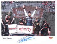 Christopher Bell Signed NASCAR 11x14 Photo - 2018 Phoenix Win Celebration (PA COA) at PristineAuction.com