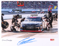 Christopher Bell Signed NASCAR 11x14 Photo - 2018 Phoenix Win (PA COA) at PristineAuction.com