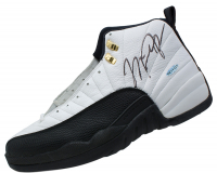 Pair of (2) Michael Jordan Signed Air Jordan XII Basketball Shoes (JSA LOA & UDA Hologram)