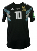 Lionel Messi Game-Used Team Argentina 2018 World Cup Adidas Jersey (Letter of Provenance) at PristineAuction.com