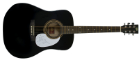 Mick Jagger Signed Acoustic Guitar (REAL LOA)