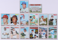 1970 Topps Complete Set of (727) Baseball Cards with #500 Hank Aaron, #230 Brooks Robinson, #660 Johnny Bench, #350 Roberto Clemente, #300 Tom Seaver at PristineAuction.com