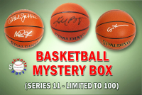 Schwartz Sports Basketball Superstar Signed Mystery Box Basketball - Series 11 (Limited to 100) (Pristine Exclusive Edition)