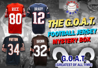 Schwartz Sports The G.O.A.T. Football Superstar Signed Jersey Mystery Box - Series 1 (Limited to 112)