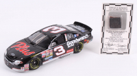 Dale Earnhardt Sr. LE #3 GM Goodwrench Service Plus 1998 Chevrolet Monte Carlo 1:24 Diecast Car with 1998 Daytona 500 Race-Used Tire Piece (RCCA COA)