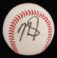 Mike Trout Signed OML Baseball (PSA COA)