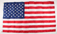 American Flag Flown over the Capitol on June 6, 2019 (Architect of the Capitol COA)