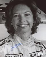 Janet Guthrie Signed NASCAR 8x10 Photo (JSA COA)