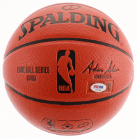 Anthony Davis Signed Game Ball Series Basketball (PSA COA) at PristineAuction.com