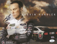 Kevin Harvick Signed NASCAR 8.5x11 Photo (JSA COA)