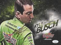 Kyle Busch Signed 8x10 Photo (JSA COA)