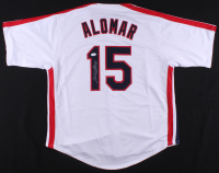 Sandy Alomar Jr. Signed Jersey (JSA COA)