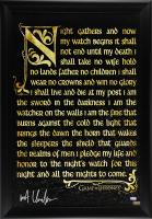 """Kit Harington Signed """"Game of Thrones"""" 28x40 Custom Framed Poster Display (Radtke COA)"""