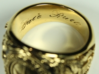 1927 New York Yankees Babe Ruth World Series Championship Replica Ring at PristineAuction.com