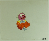 "Baby Animal ""The Muppet Babies"" Original Hand-Painted Production Animation Painted Cel (PA LOA) at PristineAuction.com"