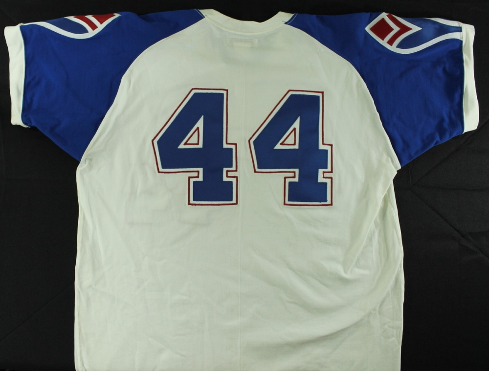 Hank Aaron Signed Braves Authentic Mitchell   Ness Cooperstown Collection  Jersey (JSA LOA) at 35037d445