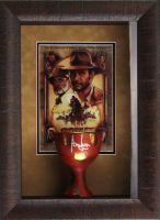 "Harrison Ford Signed ""Indiana Jones"" 14x19x6 Custom Framed Shadowbox Chalice Display (Radtke COA)"