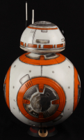 """Brian Herring Signed Disney """"Star Wars: The Force Awakens"""" Big-Figs Deluxe 18"""" Custom Hand-Painted BB-8 Figure Inscribed """"Keep Rolling"""" & """"BB-8"""" with Hand-Drawn BB-8 Sketch - 1/1 (PA COA) at PristineAuction.com"""