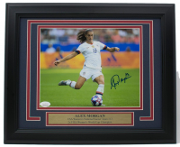 Alex Morgan Signed Team USA Soccer 11x14 Custom Framed Photo Display (JSA COA) at PristineAuction.com