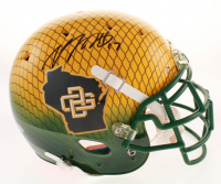 Davante Adams Signed Green Bay Packers Full-Size Authentic On-Field Hydro-Dipped Helmet (Beckett COA) at PristineAuction.com
