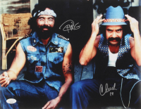 """Cheech Marin & Tommy Chong Signed """"Up In Smoke"""" 11x14 Photo Inscribed """"19"""" (JSA COA) at PristineAuction.com"""