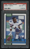 1990 Topps Traded #27T Emmitt Smith RC (PSA 10)