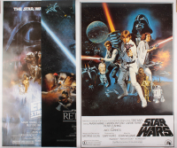 "Set of (3) Star Wars 27x40 Movie Posters with ""Star Wars,"" ""Star Wars: The Empire Strikes Back"" & ""Star Wars: Return of the Jedi"""