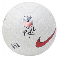 Rose Lavelle Signed Team USA Nike Soccer Ball (JSA COA)