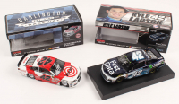 Lot of (2) Kyle Larson Signed LE 1:24 Scale Die Cast Cars with #42 Target - Darlington 2016 SS Autographed & #42 First Data 2018 Camaro ZL1 Liquid Color Autographed (RCCA COA)
