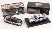 Lot of (2) Kevin Harvick LE 1:24 Scale Die Cast Cars with (1) Signed #4 Jimmy John's 2017 Fusion Autographed & (1) #4 Mobil 1 Texas Win 2018 Fusion Elite (RCCA COA)