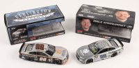 Lot of (2) Dale Earnhardt Jr. LE 1:24 Scale Die Cast Cars with (1) Signed #88 Nationwide Insurance 2016 SS Raw & (1) #88 Nationwide Darlington 2016 SS Flashcoat Color (RCCA COA)