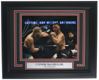 Conor McGregor Signed UFC 13x16 Custom Framed Photo Display (Fanatics Hologram) at PristineAuction.com