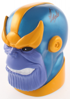"Stan Lee Signed Signed ""Thanos"" Coin Bank (Radtke COA & Lee Hologram) at PristineAuction.com"