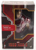 Stan Lee Signed Marvel Iron Man Mark VII Hot Toys 1:4 Scale Bust (Lee Hologram) at PristineAuction.com